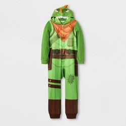 Boys' Fortnite Union Suit - Green