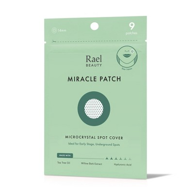 Rael Beauty Miracle Acne Patch Microcrystal Spot Cover - 9ct