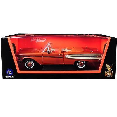 1958 Edsel Citation Convertible Brown 1/18 Diecast Model Car by Road Signature