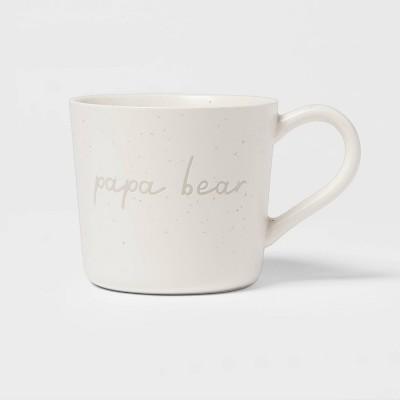 15oz Stoneware Papa Bear Mug - Threshold™