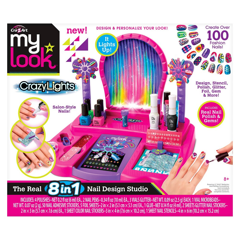 My Look 8 in 1 Super Nail Salon by Cra-Z-Art