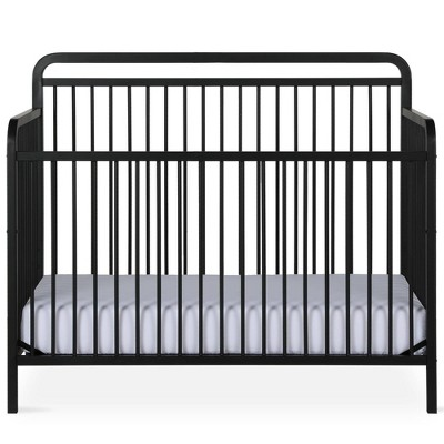 Baby Relax Irvine 4-In-1 Convertible Metal Crib Black