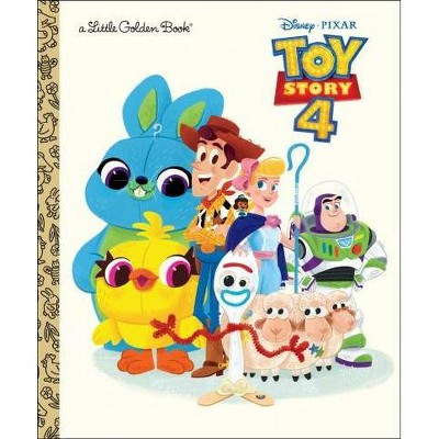 Toy Story 4 Little Golden Book (Disney/Pixar Toy Story 4) - by  Josh Crute (Hardcover)