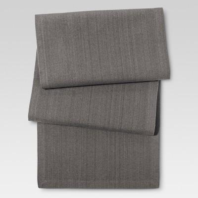 Gray Kitchen Textiles Table Runner - Threshold™