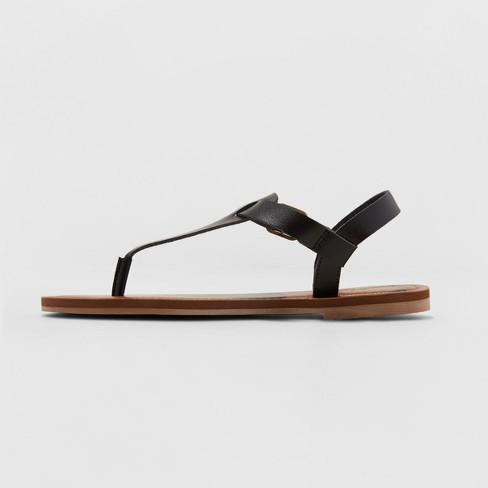 e8abef88edb2ca Women s Lady Toe Thong Sandal - Universal Thread™ Black 6   Target
