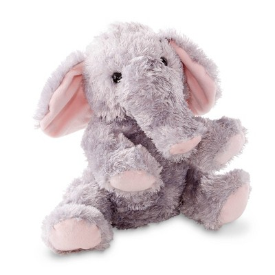 Melissa & Doug Sterling Elephant Stuffed Animal