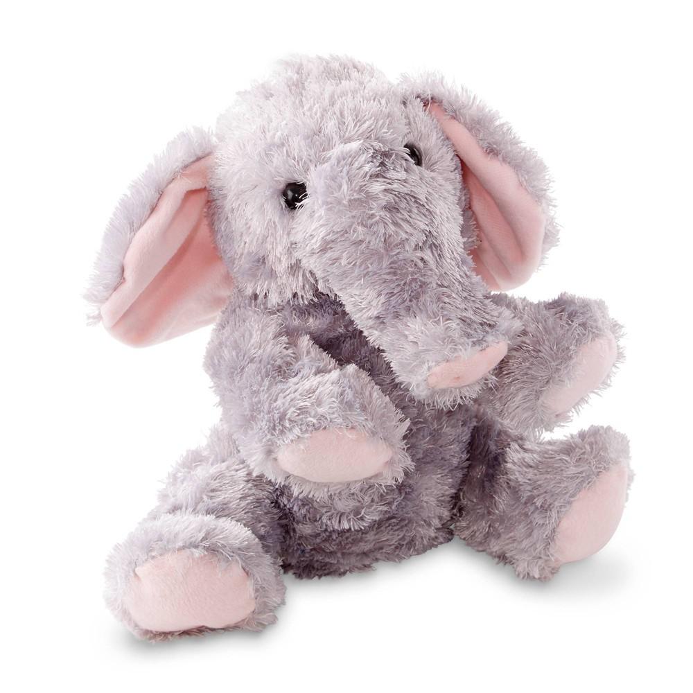Melissa 38 Doug Sterling Elephant Stuffed Animal