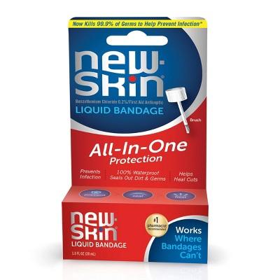 New Skin Liquid Bandage Brush – 1.0fl oz