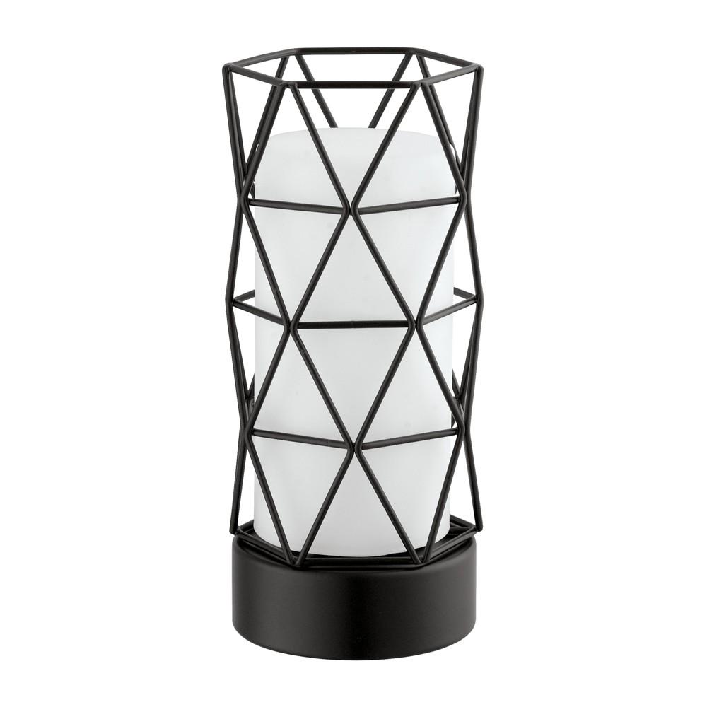 Image of Estevau 2 Accent Lamp Black (Includes Light Bulb) - EGLO