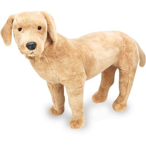 Melissa Doug Giant Yellow Labrador Lifelike Stuffed Animal Dog