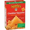 Annie's Cheddar Squares Baked Snack Crackers - 7.5oz - image 2 of 3