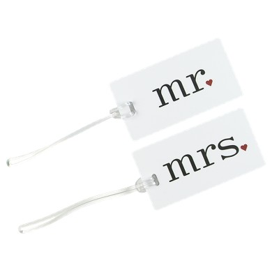 Mr./Mrs. Luggage Tag Set