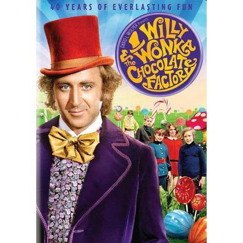 Willy Wonka & The Chocolate Factory 40th Anniversary (DVD) - image 1 of 1