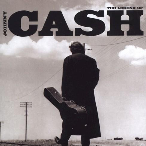 Johnny Cash - The Legend of Johnny Cash (CD) - image 1 of 1