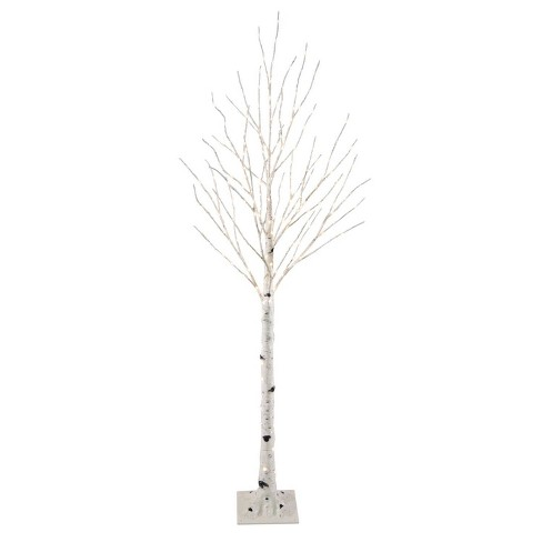 new products 7988c cadde Philips 5ft Pre-lit Artificial Christmas Slim Birch Twig Tree Warm White -  LED Dew Drop Lights