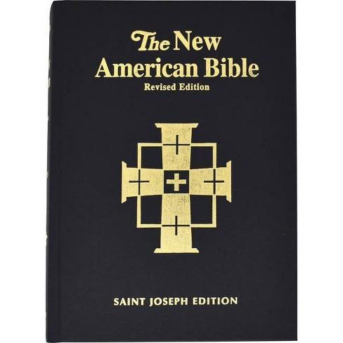 Saint Joseph Bible-NABRE-Large Print-Illustrated - (Hardcover) - image 1 of 1