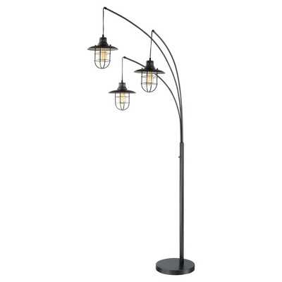 3-way Lanterna Ii Floor Lamp Dark Bronze (Includes Light Bulb) - Lite Source
