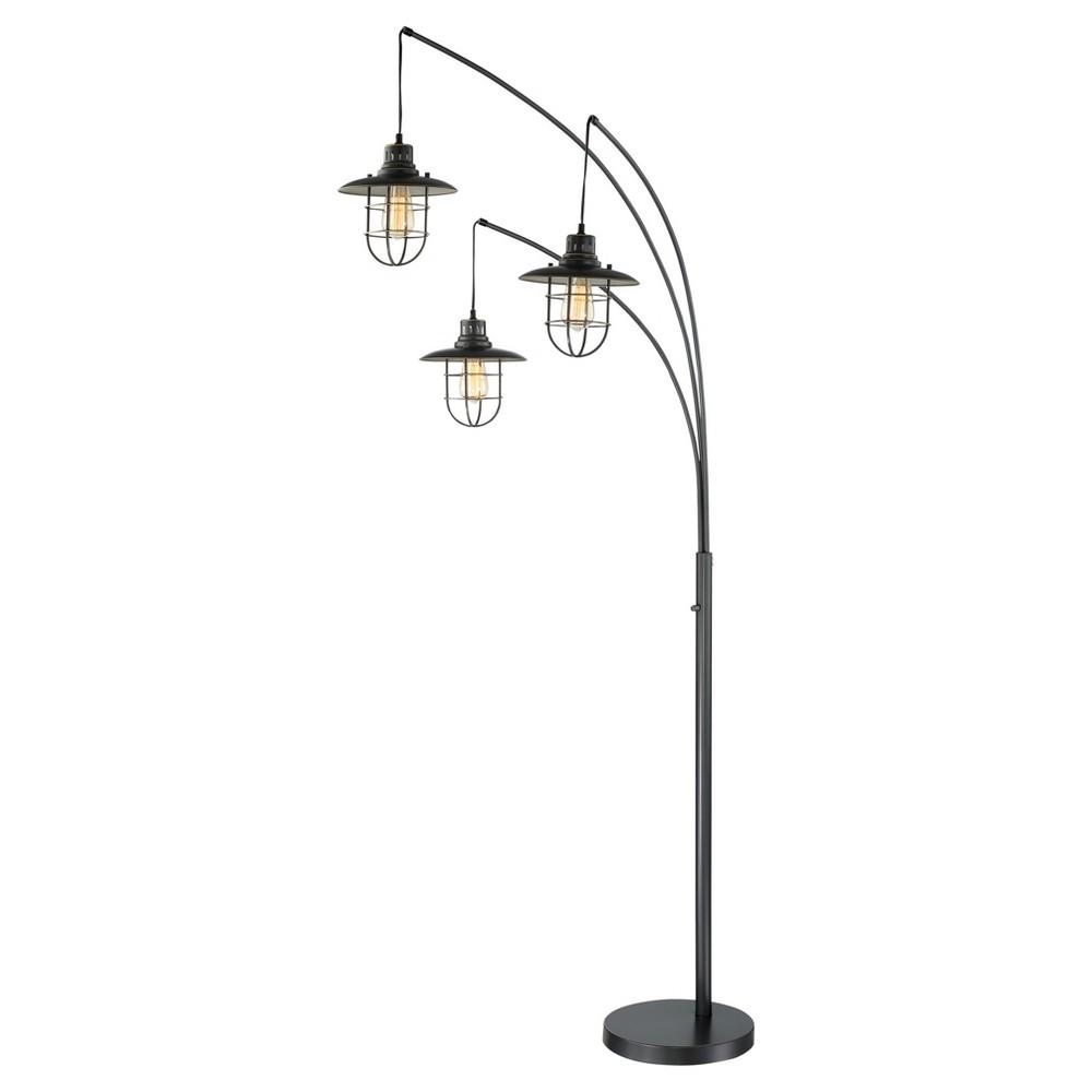 Lanterna Ii Floor Lamp Dark Bronze (Includes Light Bulb) - Lite Source