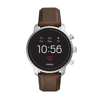 Fossil Gen 4 Smartwatch - Explorist HR 45mm Brown Leather