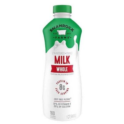 Shamrock Farms Vitamin D Milk - 1qt