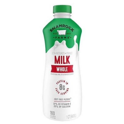 Shamrock Farms Vitamin D Milk - 1qt - image 1 of 1