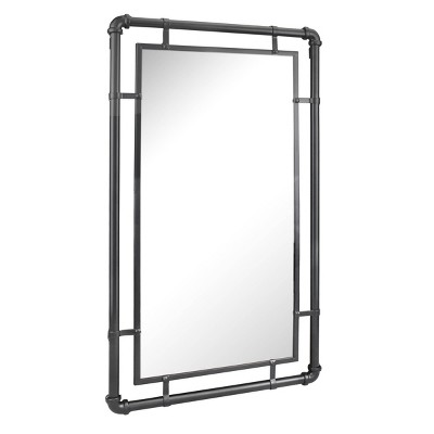 Large Rectangle Metal Decorative Wall Mirror - Stonebriar Collection