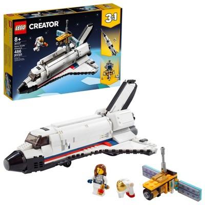 LEGO Creator 3in1 Space Shuttle Adventure 31117 Building Kit