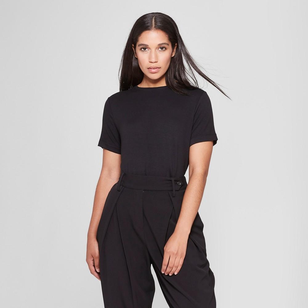 Women's Short Sleeve Crew Neck T-Shirt - Prologue Black XL