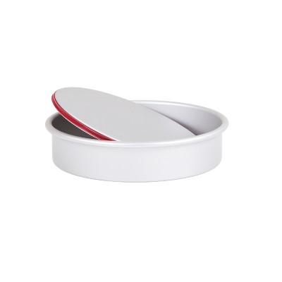 PushPan Aluminium Shallow Round 8 Inch Baking Tin