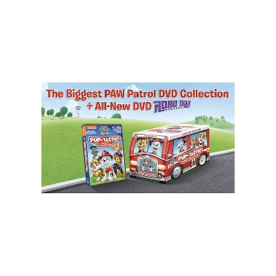 Paw Patrol: Pup-Tastic 8-DVD Collection Limited Edition Marshall's Fire Truck(2020)