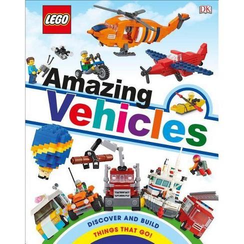Lego Amazing Vehicles (Library Edition) - (Hardcover) - image 1 of 1