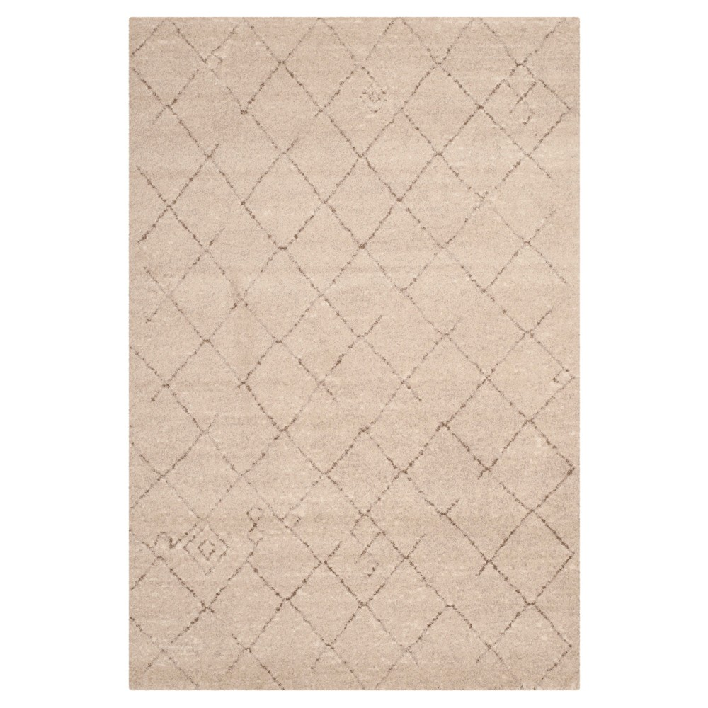 Tunisia Rug - Ivory - (6'x9') - Safavieh