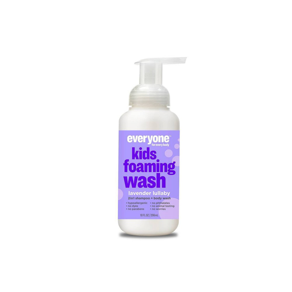 Image of Everyone for Every Body Kids Lavender Lullaby Foaming Wash - 10oz