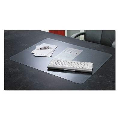 Artistic KrystalView Desk Pad with Microban Matte 17 x 12 Clear 60740MS
