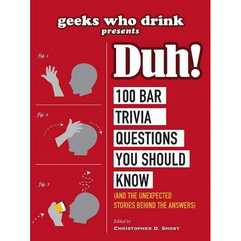 Geeks Who Drink Presents: Duh! - by  Christopher D Short (Paperback) - image 1 of 1