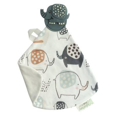Malarkey Kids Munch-It Teether Blanket - Earnest Elephant