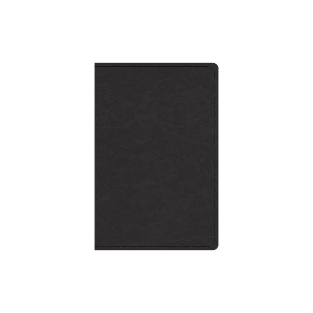Holy Bible : English Standard Version, Black, Goatskin, Preaching Bible - (Paperback)