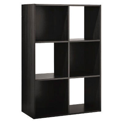 "11"" 6 Cube Organizer Shelf Espresso - Room Essentials™"