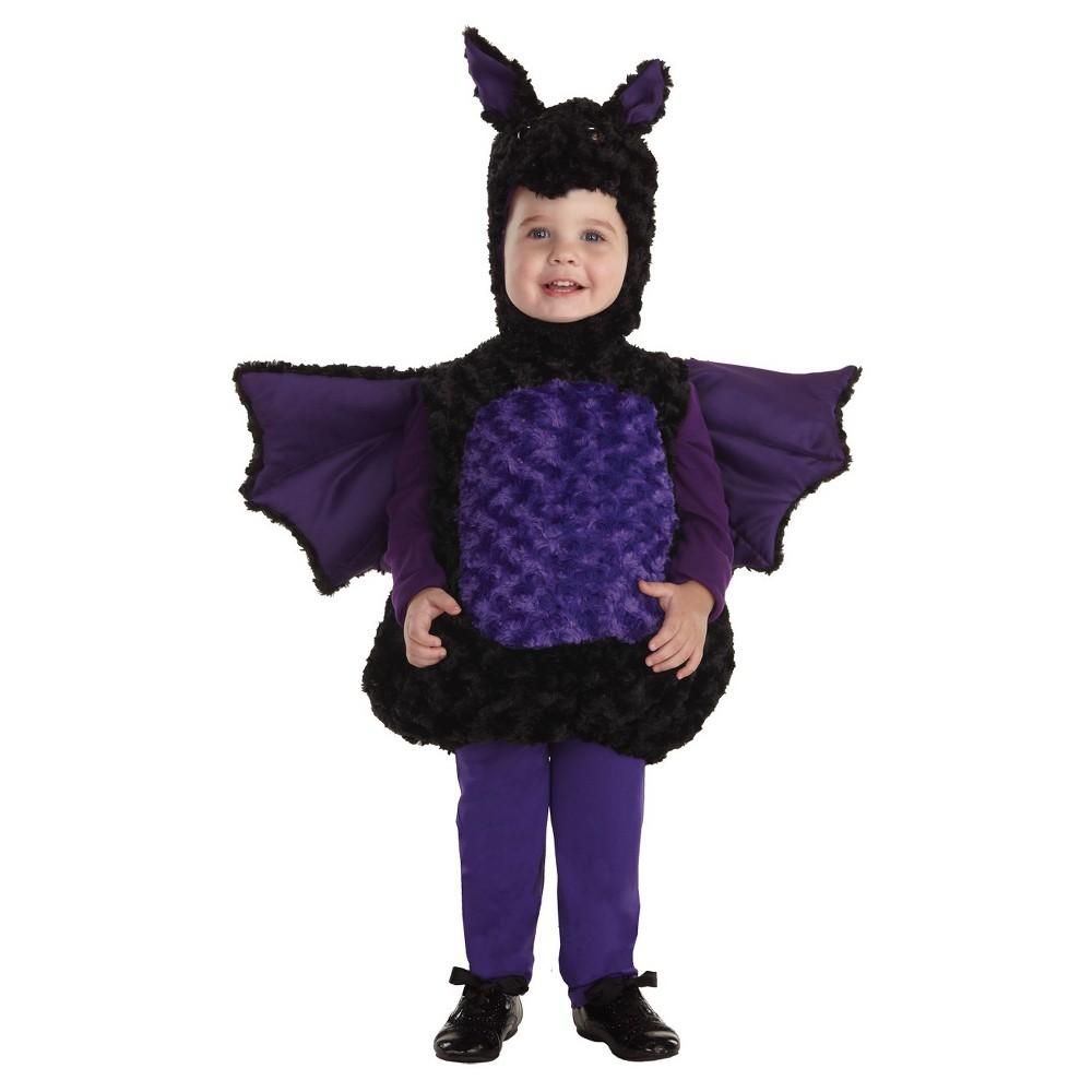 Toddler Bat Costume Medium 18-24 Months, Toddler Unisex, Size: 18-24M, Multicolored