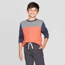 Boys' Long Sleeve T-Shirt - Cat & Jack™ Orange
