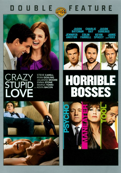 Crazy, Stupid, Love/Horrible Bosses (2 Discs) (dvd_video) - image 1 of 1
