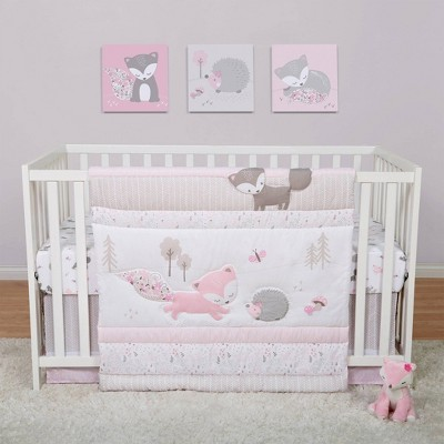 Sammy & Lou Lots of Fox Crib Bedding Set - 4pc