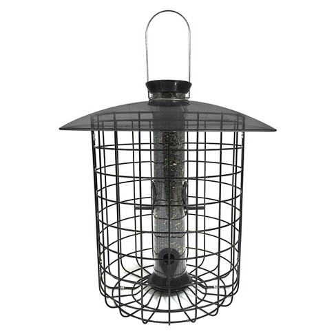 Droll Yankees Sunflower Squirrel Proof Domed Cage Bird Feeder - Black - image 1 of 2