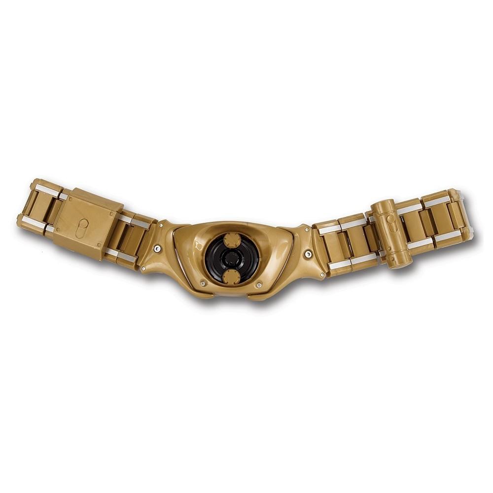 Image of Batman The Dark Knight Rises Adult Batman Belt Black, Men's, Gold