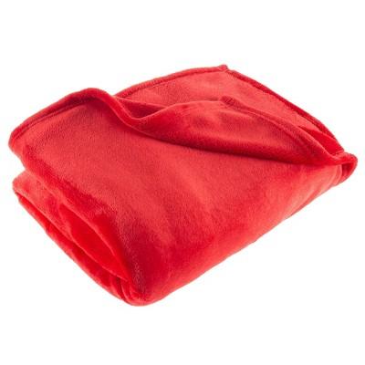 "60""x70"" Oversized Flannel Fleece Throw Blanket - Yorkshire Home"