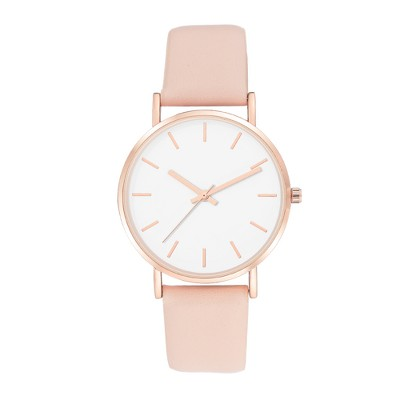 Women's Strap Watch - A New Day™ White