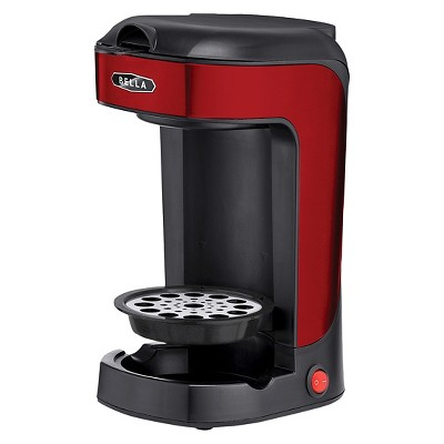 Bella Single Scoop Coffee Maker - Red
