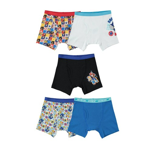 Boys' Sonic the Hedgehog 5pk Underwear - image 1 of 2