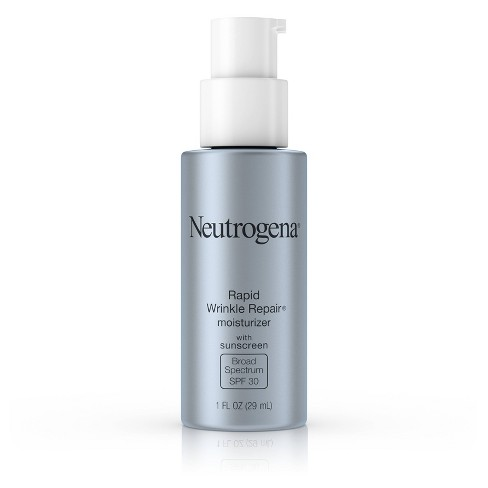 Neutrogena Rapid Wrinkle Repair Face & Neck Moisturizer - SPF 30 - 1 fl oz - image 1 of 4