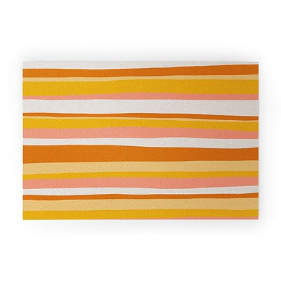 Sunshinecanteen Sedona Stripes Looped Vinyl Welcome Mat - Society6